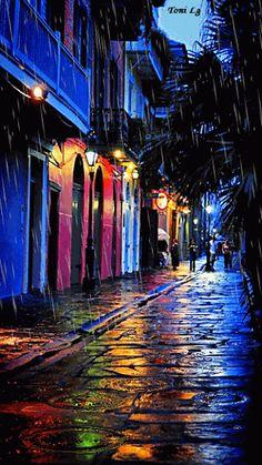 Beautiful colorful pictures and Gifs: Raining Day gifs-Bajo la lluvia fotos Walking In The Rain, Singing In The Rain, Beautiful Gif, Beautiful Pictures, Colorful Pictures, Gifs, Foto Top, I Love Rain, Rain Days