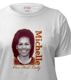 Michelle Obama shirts from Democrat Brand at #cafepress #michelleobama
