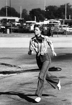 bionic woman running - photo #12