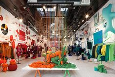 United Colours of Benetton -Art of Knit shop, New York