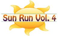 rockmyrun.com's sun run vol 4. great for outdoor running. plenty of familiar stuff but enough different sounds to keep it from getting too predictable.