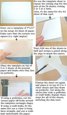 Step by step instructions to leather bind a book or journal posh how to make a leather journal book binding tutorial solutioingenieria Choice Image