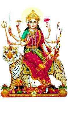 - 'माँ दुर्गा' मोबाइल वॉलपेपर HD … & Durga& Mobile Wallpaper HD Maa Durga Wallpaper Mobile, Durga ji wallpapers, durga ji ki photo Friends on the occasion of this Navratri … - Durga Maa Pictures, Durga Images, Maa Image, Maa Durga Image, Shiva Hindu, Hindu Deities, Hinduism, Durga Kali, Hindu Art