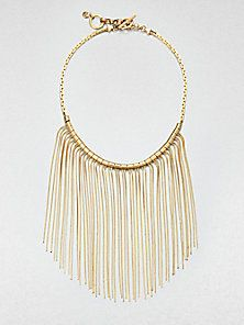 Michael Kors - Fringe Bib Necklace