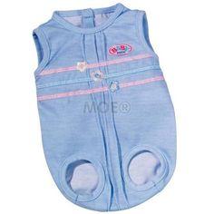 Zapf Creation - BABY born Underwear Blue One Piece Sleeveless none http://www.comparestoreprices.co.uk/dolls/zapf-creation--baby-born-underwear-blue-one-piece-sleeveless.asp