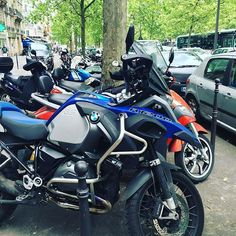 Hello from Paris  #bmw #bmwmotorrad #bmwmotorcycles #triumph #advrider #super_adv_riders #r1200gs #multistrada #explorer1200 #adventure #touratech @touratech_usa #wunderlich #tiger1200 #ktm_motorcycles @bmwmotorrad_bahrain @bmw_euromotorsbh #makelifearide @swimsbh @d1milanobh @velvet.life #almoayyedmotors #F800 #gs #bmwgs #ducati #honda #aprilia #Yamaha #paris