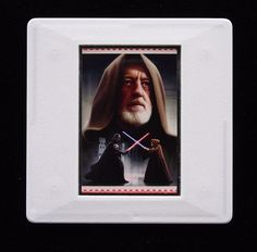 The Royal Mail released a set of special stamps featuring some of the characters, favourite droids, aliens and creatures of the Star Wars films. This 1st class stamp design shows Obi-Wan Kenobi. Also known as Ben Kenobi he is mentor to Luke Skywalker and introduces him to the ways of the Jedi. Alec Guinness played Obi-Wan and in original Star Wars movie earned an Academy award nomination for Best Supporting Actor.  This unique brooch is an eye-catching piece, ideal to wear at any Comic Con. Alec Guinness, Best Supporting Actor, Star Wars Film, Luke Skywalker, Obi Wan, Royal Mail, Design Show, Postage Stamps, True Colors