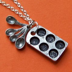 The Original Cupcake Lover Charm Necklace by SaritasJewelryBox, $18.00