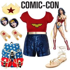 A fashion look from July 2015 featuring short sleeve shirts, blue shorts and gold shoes. Browse and shop related looks. Pink Lady Costume, Gold Shoes, Cute Disney, Disneybound, Blue Shorts, Costumes For Women, Fashion Ideas, Pink Ladies, Pride