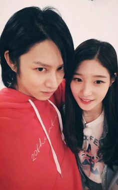 Heechul and Chaeyeon