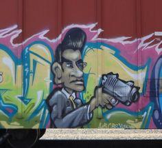 Sacramento, California Railcar  Graffiti