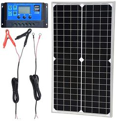 Amazon.com : TP-solar Solar Panel Kit 30W 12V Monocrystalline Battery Charger Maintainer with 10A Charge Controller + Extension Cable for 12 Volt Car RV Vehicle Marine Boat Home Off Grid System : Garden & Outdoor 100 Watt Solar Panel, 12v Solar Panel, Solar Panel Kits, Solar Panels, Solar Video, Rv Vehicle, Off Grid System, 12v Led Lights, Solar Battery Charger