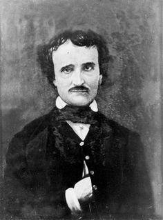 Edgar Allan Poe; portrait by Gabriel Harrison, 1896,  (click through to a Marilynne Robinson piece on Poe. rw)