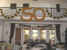ANINIVERSARY DECORATIONS | 50th Wedding Anniversary Party Ideas | Happy Party Idea