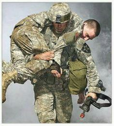 God bless our military! No man left behind. Military Veterans, Military Men, Military Salute, Usmc, Marines, Art Of Manliness, Unsung Hero, Support Our Troops, Real Hero