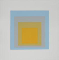 Josef Albers yellow http://decdesignecasa.blogspot.it