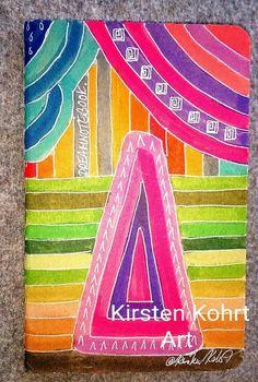 Notizhefte - NOTIZBUCH-DREAMNOTEBOOK- KIRSTEN KOHRT ART - ein Designerstück von KIRSTEN-KOHRT-ART bei DaWanda