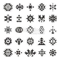 Vector Art : Vector abstract geometric elements
