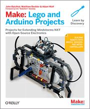 Lego and Arduino Projects for extending MINDSTORMS NXT with open-source electronics