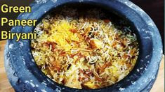 फेमस ग्रीन पनीर बिरयानी   Green Paneer Biryani   Chef Bhupi   Honest Kitchen   Best Biryani - YouTube Paneer Biryani, Rice, Cooking, Green, Kitchen, Youtube, Indian, Food, Meal