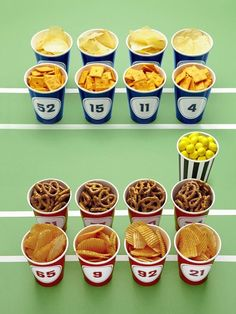Host a Winning Super Bowl Party : Decorating : Home & Garden Television HGTV Football
