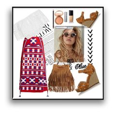 """""""Untitled #558"""" by little-mrs-cant-be-wrong ❤ liked on Polyvore featuring Vita Kin, Miguelina, Michael Kors, H&M, redwhiteandblue and july4th"""