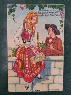 old portuguese postcard 3