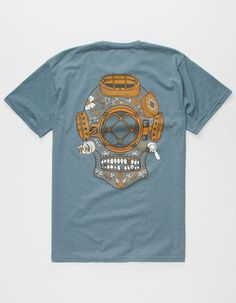 JETTY Diver Skull Mens T-Shirt 285246212 | Graphic Tees