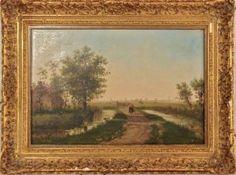 Gemälde Holländische Landschaft