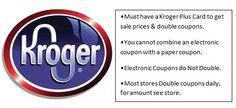 Kroger Coupon Matchups 5/26-6/1