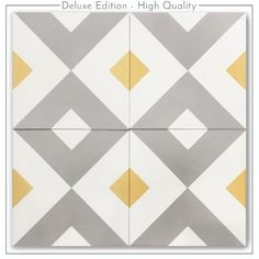 Decor, Tiles, Cement Tile, Industrial House, Interiors Dream, Stenciled Floor, Interior Design, Vintage, Deco