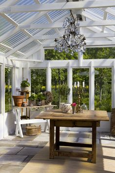 "greenhouse. good idea for my ""writing shed"". plastic for roof."