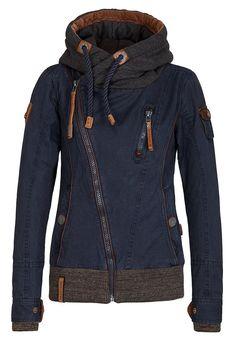 Naketano Female Jacket Walk The Line Dark Blue, M