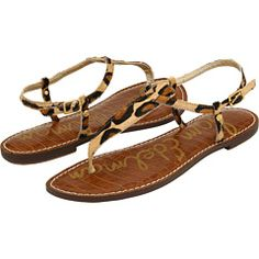 leopard flat sandals... that I wish I'd discovered in April