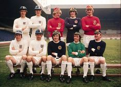 Leeds United international players circa England - Paul Madely, Alan Clarke, Mick Jones & Paul Reany Scotland - Peter Lorimer, Billy Bremner & Eddie Gray Wales - Terry Yorath & Gary Sprake Rep of Ireland - Johnny Giles Leeds United News, Leeds United Football, Terry Yorath, The Damned United, Real Champions, Bristol Rovers, Mick Jones, Class Games, Association Football