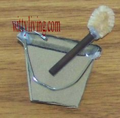 latrine bucket brush
