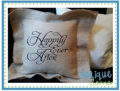 #1089 Happily Ever After Embroidery Design