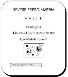 #Nursing #Nurse #RN #OB #HELLP #Preeclampsia