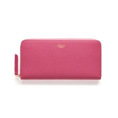 Mulberry - 8 CC Zip Around Wallet in Candy Small Classic Grain €345