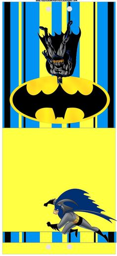 Batman Free Printable Candy Bar Labels.