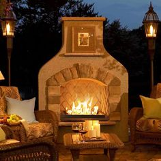 Bringing a taste of the sweet Southwest to your backyard   - Sonoma Outdoor Gas Burning Fireplace