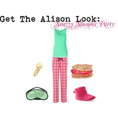 Pretty Little Liars' Alison DiLaurentis Snazzy Slumber Party outfit