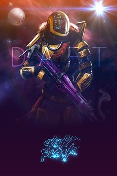 Daft Punk meets Destiny by Seab Galll on Behance