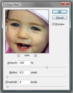 Photoshop Tutorials: Understanding Unsharp Mask