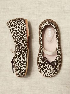 Bloch ballet flats! Love the leopard print.