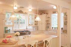 Trendy kitchen window over sink stove 28 Ideas Window Over Sink, Window Unit, Cozy Kitchen, Nice Kitchen, Kitchen Stove, Awesome Kitchen, Kitchen Redo, Open Kitchen, Kitchen Pantry