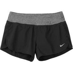 "Nike 3"""" Rival Running Shorts (650 UYU) ❤ liked on Polyvore featuring activewear, activewear shorts, shorts, nike, nike sportswear and nike activewear"