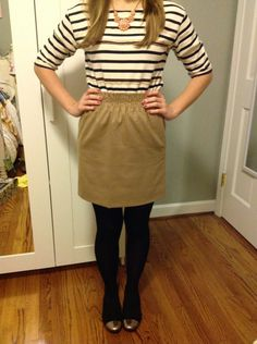 8 Ways to Wear the J. Crew Factory Pleated Skirt