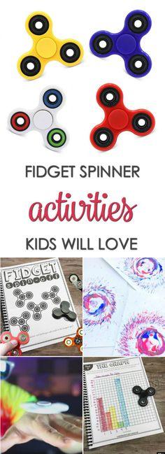Fidget Spinner Activities Your Kids Will Love