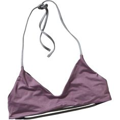 Patagonia Women's Reversible Mamala Top (€46) ❤ liked on Polyvore featuring intimates, bras, tops, underwear, lingerie, tyrian purple, adjustable bra, patagonia, spaghetti strap halter top and patagonia bra